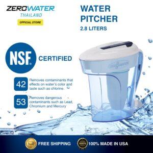 ZeroWater Thailand Water Pitcher 2.8 Liters