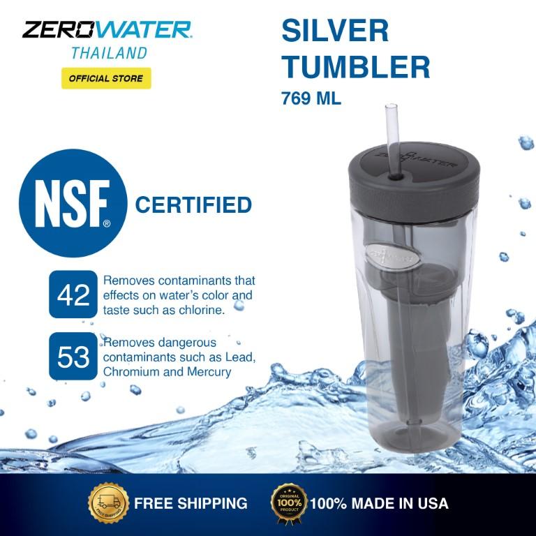 Zerowater Silver Tumbler 769 ML